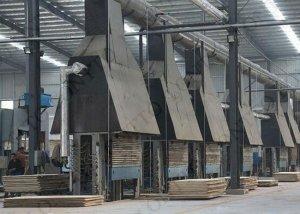 plywood hot press machine 1