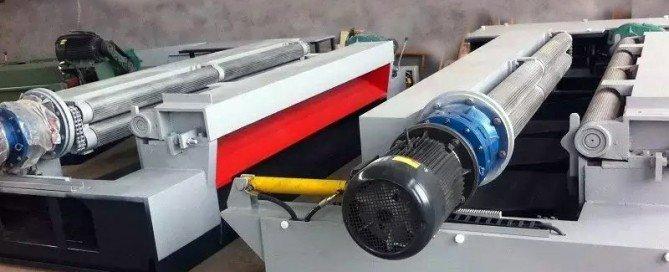 токарный станок для шпона 1